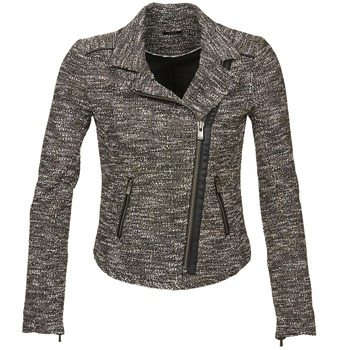 material Women Jackets / Blazers Ikks VERMILLION Black