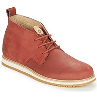 Shoes Men Mid boots Volcom DEL COASTA LTHR SHOE Brown