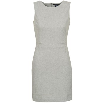 material Women Short Dresses Gant L. JERSEY PIQUE Grey