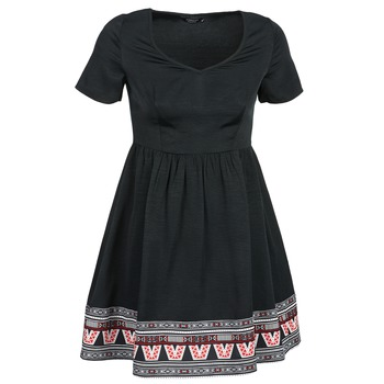 material Women Short Dresses Eleven Paris NANA Black