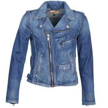 material Women Denim jackets Schott JANIS Blue