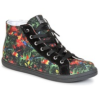 Shoes Women High top trainers Love Moschino JA15132G0KJE0000 Black / Multicoloured
