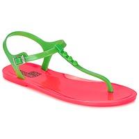 Shoes Women Sandals Love Moschino JA16381G0KJN180A Green / Pink