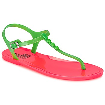 Sandals Love Moschino JA16381G0KJN180A Green / Pink 350x350