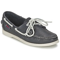 Shoes Women Boat shoes Sebago DOCKSIDES Blue