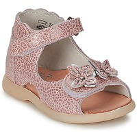 Shoes Girl Sandals Little Mary SOLEIL Pink