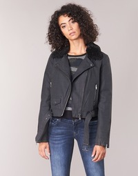 material Women Leather jackets / Imitation leather Only ONLCAROL Black