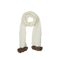 Accessorie Women Scarves André POLAIRE White