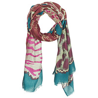 Accessorie Women Scarves André ALEXINA Lie / De / Vin