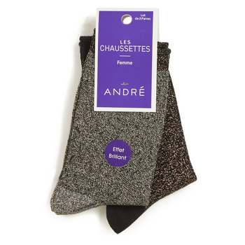 Accessorie Women Socks André LEOPARD Multicoloured