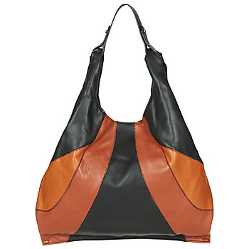 Bags Women Shoulder bags André PAULINE Black / Brown
