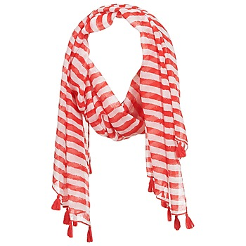 Accessorie Women Scarves André DOVA White / Red