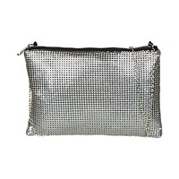 Bags Women Evening clutches André ELISA Silver