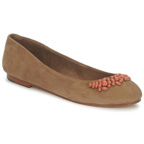 Shoes Women Ballerinas Ambre Babzoe DUFFY CAMEL