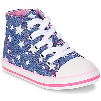 Shoes Girl High top trainers Chicco CREMIXI DENIM / Etoile