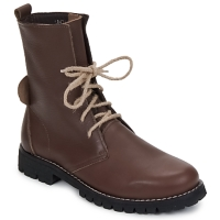 Shoes Women Mid boots Swamp BIKE Brown