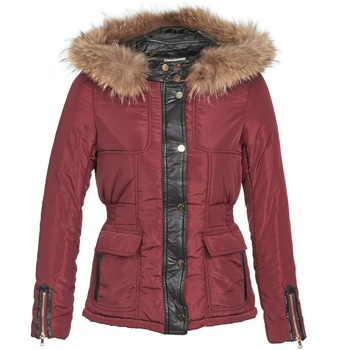 material Women Duffel coats Betty London BAMBOU Bordeaux