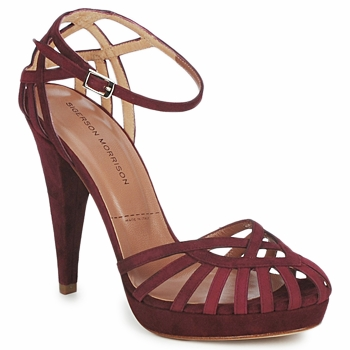 Shoes Women Sandals Sigerson Morrison CAMOSO Rum