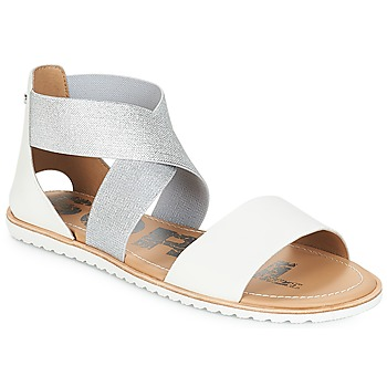 Shoes Women Sandals Sorel ELLA SANDAL White
