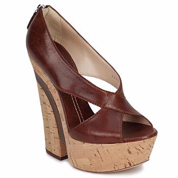 Sandals Casadei ELEANORE Castagna 350x350