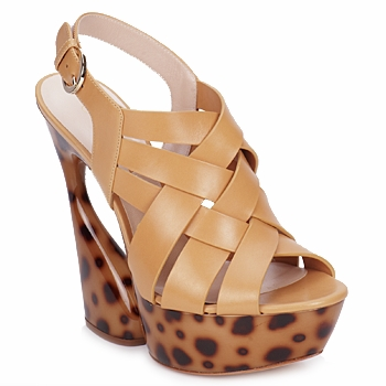 Sandals Casadei MAGGY Sweet / Natural 350x350
