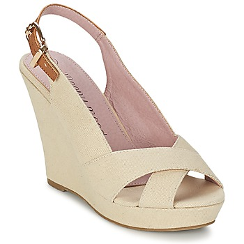 Shoes Women Sandals Moony Mood AKOLM BEIGE