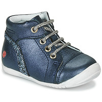 Shoes Girl Mid boots GBB ROSEMARIE Blue