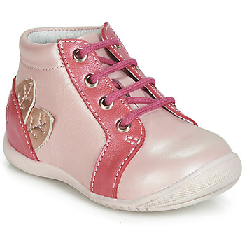 Shoes Girl High top trainers GBB FRANCKIE Pink