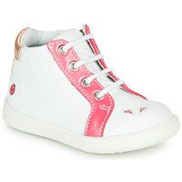 Shoes Girl High top trainers GBB FAMIA Vte / Coral white / Messi