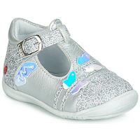 Shoes Girl Ballerinas GBB MERTONE Silver