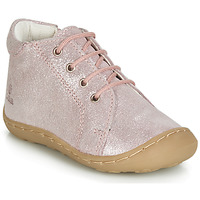 Shoes Girl High top trainers GBB VEDOFA Pink