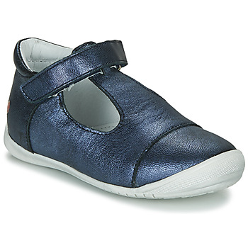 Shoes Girl Ballerinas GBB MERCA Vte / Marine / Kezia