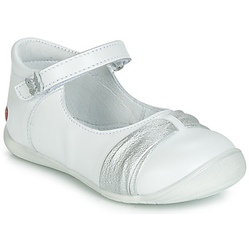 Shoes Girl Ballerinas GBB MALLA White