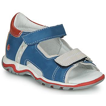 Shoes Children Sandals GBB PARMO Blue
