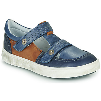 Shoes Boy Low top trainers GBB VARNO Navy tan