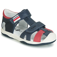 Shoes Boy Sandals GBB BERTO Marine / Red
