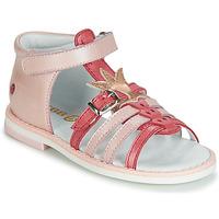 Shoes Girl Sandals GBB CARETTE Pink