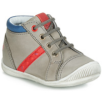 Shoes Boy High top trainers GBB TARAVI Grey / Red / Blue