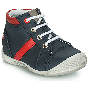 Shoes Boy Mid boots GBB TARAVI Marine / Red