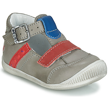 Shoes Boy High top trainers GBB BALILO Vte / Grey red blue