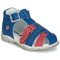 Shoes Boy Sandals GBB ARIGO Blue / Red