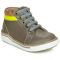 Shoes Boy High top trainers GBB QUITO Grey