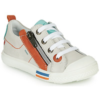 Shoes Boy Low top trainers GBB STELLIO Vte / Orange / Lucky