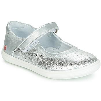 Shoes Girl Ballerinas GBB PLACIDA Silver