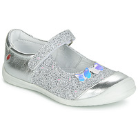 Shoes Girl Ballerinas GBB SACHIKO Silver