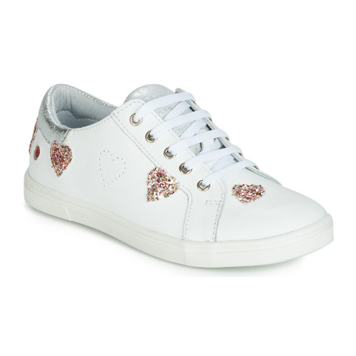 Shoes Girl Low top trainers GBB ASTOLA White