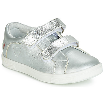 Shoes Girl Low top trainers GBB BALOTA Silver