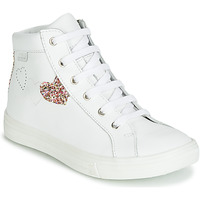 Shoes Girl High top trainers GBB MARTA White / Multicoloured