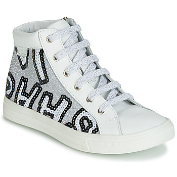 Shoes Girl High top trainers GBB MARTA White