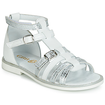 Shoes Girl High top trainers GBB MONELA White